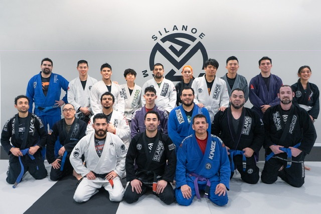 Group pic with Josh and the Adults in the BJJ All Levels