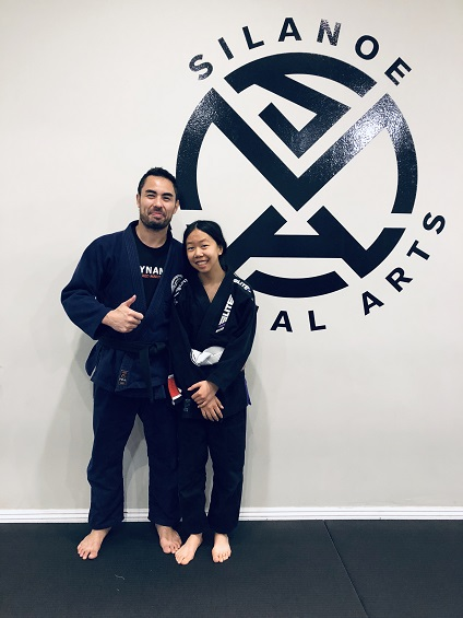 Faith Silanoe Jiu-Jitsu teens in San Gabriel Alhambra promoted